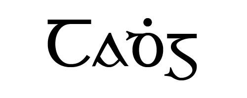 Tadhg in old Gaelic script
